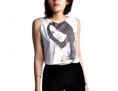 Omg! Need!  Aaliyah+Shirt+Crop+Top+Tank+Shirts+Size+S+M+L+by+HowDoiRock,+$14.99
