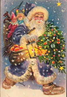 Santa Claus Is Coming To Town by Caryl on Etsy