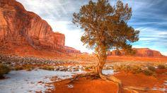 Snow In Desert - Fondos de pantalla HD. Fondos de escritorio. Protectores de pantalla. Wallpapers HD. Fondos de pantalla.