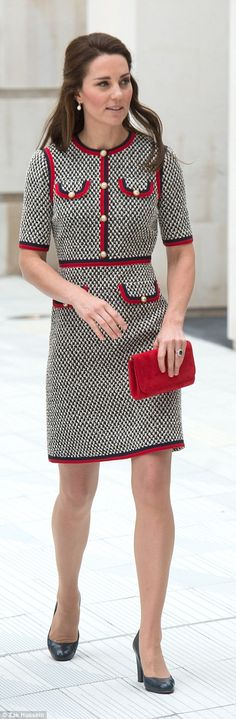 The Duchess of Cambridge officially opens The V&A Exhibition Road Quarter in London...