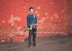 Senior Skateboarder by Michaela Wickman Photography :: Inspire Me Baby