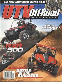 UTV Off Road magazine Polaris RZR XP 900 Kawasaki Special performance issue