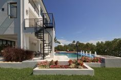 Barefoot Beach Residence - tropical - Pool - Other Metro - Studios / Gerard Land Aquatic, Inc. 3d Home Design, Tool Design, House Design, Barefoot Beach, Tropical Pool, Interior Design Photos, My House, Layout, Mansions