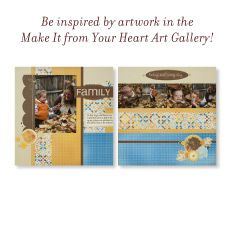 This is a great website for scrapbookers! Be sure to check out their online Idea Book.