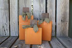 easy wood pumpkins- I love this etsy shop!