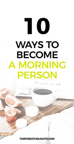 How to Become a Morning Person. I think that we can all easily agree that sleep is one of the best things, ever. Just as your bed is probably one of your favorite things, ever. It's warm, soft and comfy- it's a place that's pretty difficult to leave in th Evening Routine, Night Routine, Good Habits, Healthy Habits, Morning Habits, Morning Routines, Daily Routines, Eat Better, Morning Ritual