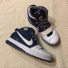 quality design 26fec 48440 Nike Shoes   Nike Zoom Lebron 6 Yankees Sneakers   Color  Blue White    Size  9.5