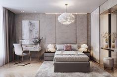 Enhance Your Senses With Luxury Home Decor Condo Bedroom, Bedroom Bed Design, Girl Bedroom Designs, Modern Bedroom Design, Contemporary Bedroom, Home Decor Bedroom, Living Room Designs, Condo Interior Design, Suites