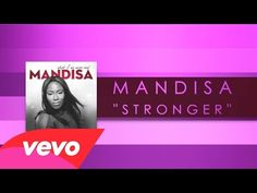 Thank you Sarah for this pin I needed it! Mandisa - Stronger (Lyric Video) - YouTube