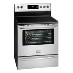 "Frigidaire Gallery 30"" Free Standing Electric Range - Smudge-Proof Stainless Steel  MODEL: FGEF3032MF"