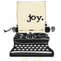joy :: my one little word