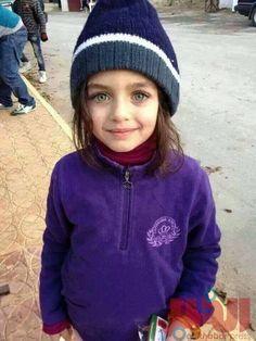 Syrian Arab Refugee Girl Selling Gum in the Streets of Jordan