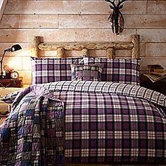 Home Collection - Purple 'Leah' bedding set