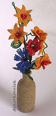 Dekorace z Jabloneckých korálků