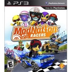 NEW ModNation Racers PS3 (Videogame Software)