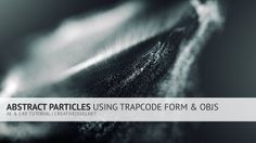 More info: http://creativedojo.net/tutorial/abstract-particles-with-trapcode-form/  In this tutorial, we're going to take a look at how to create some abstract particles using Trapcode Form and OBJ files.  Special thanks to our friendly sponsors from Squarespace. For a free trial and 10% off, visit http://www.squarespace.com/dojo and use the promo code: dojo11  Website: http://www.creativedojo.net Twitter: http://www.twitter.com/creativedojo Facebook: http://www.facebook.com/creati…