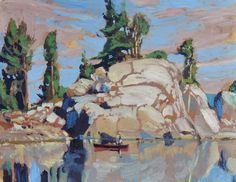 Garth Armstrong - Little Clear Lake, Frontenac Provincial Park 8 x 10
