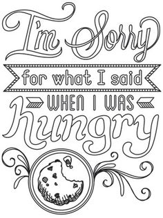 Spice It Up - I'm Sorry for What I Said | Urban Threads: Unique and Awesome Embroidery Designs