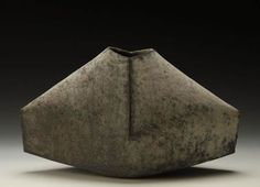 Ken Mihara, Sekki Kaki(Stoneware vase), 2008, Private collection