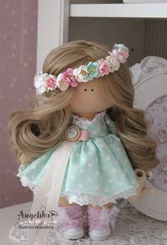 AngelikaИнтерьерные куклы Екатерины Минькашовой