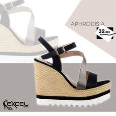 Spring Platforms! Aphrodisia 32,00€ 🚚 Δωρεάν μεταφορικά για Ελλάδα. #excelshoes #ss17 #spring #ss2017 #shoes #women #womenfashion #fashion #fashionista #shoelovers #platforms #style #thessaloniki #papoutsia #gunaika #παπουτσια #moda #heels #outfit #springmood #monday #skg #musthave