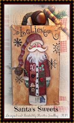 Apple Tree Cottage Original Design E Pattern - Santa's Sweets