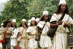 Arhuaco people of Sierra Nevada de Santa Marta, Columbia, the Elder Brothers