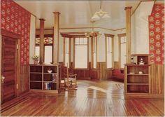 Dollhouse: Rainier Interior {Dining Room into Living}