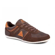 Speciale Le coq sportif grandeur low (Bruin) Sneakers van het merk Le coq sportif. Uitgevoerd in brown.