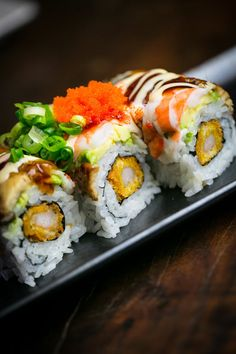 The Village at Northstar offers great dining options from casual fast to sit down and savor. Anyone up for some Mikuni Japanese Restaurant & Sushi Bar? What's your go-to sushi order?