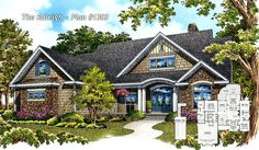 The Raleigh Plan 1303 is NOW AVAILABLE! http://www.dongardner.com/plan_details.aspx?pid=4414 3 beds, 2 baths, 1,818 sq. ft. Craftsman details, single dining, split bedroom layout with a large screened porch. #Small #Craftsman #House #Plan