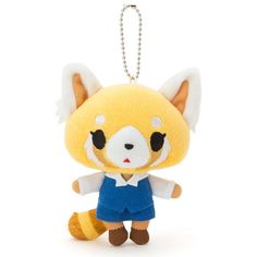 2016 NEW Sanrio Aggressive Retsuko mascot holder 10 × 6 × 13cm red panda Kawaii. ■ size about 10 × 6 × 13cm. Release Date: May 11, 2016. ■ main material and raw materials polyester. South America. AU, NZ. | eBay!