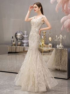 Long Sleeve Evening Gowns, Mermaid Evening Dresses, Event Dresses, Pageant Dresses, Junior Homecoming Dresses, Formal Dresses For Women, Maxi Gowns, Party Dress, Dresses With Sleeves