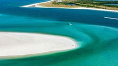 Caladesi Island State Park, Dunedin | The Sunshine State has more than sunshine—it's also the home of more than 1,300 miles of coastline and 663 miles of beaches. Here are 10 beaches that top Florida's incredible bounty, with pristine sands, spectacular waters, and gorgeous views.