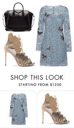 """Untitled #1533"" by aletheaxx-1 ❤ liked on Polyvore featuring Valentino, Casadei and Givenchy"