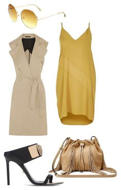 Work wear 2 by xeebae on Polyvore featuring River Island, Theory, Versace and Diane Von Furstenberg