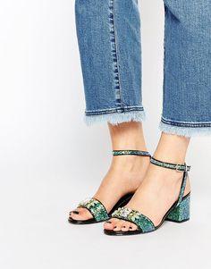 The cutest glitter sandals I've ever seen.