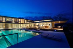 House By The Pond - Stelle Lomont Rouhani Architects ( pool side)