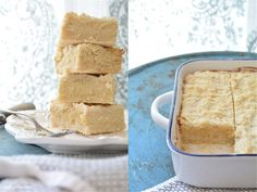 Curly Girl Kitchen: Almond Cream Cheese Shortbread Bars