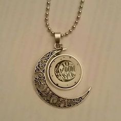 I just discovered this while shopping on Poshmark: I love you to the moon and back necklace nwot. Check it out!  Size: OS