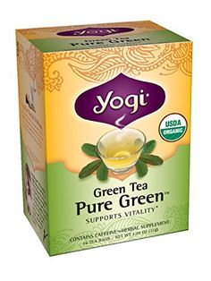 Yogi Teas Pure Green, 16 Count (Pack of 6) Yogi Teas https://www.amazon.com/dp/B0009F3SE6/ref=cm_sw_r_pi_dp_x_hVvazbMPEQ3MH