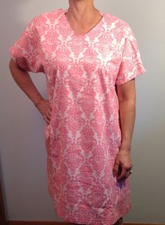 Hospital Stay Breastfeeding Nursing Gown by WhisperingTreeLLC