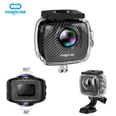 New Magicsee P3 Panorama VR Virtual Camera Video 360 Degree Sport Action Wifi for Facebook Multi-language Dual Lens Waterproof  Price: 173.36 & FREE Shipping #computers #shopping #electronics #home #garden #LED #mobiles #rc #security #toys #bargain #coolstuff |#headphones #bluetooth #gifts #xmas #happybirthday #fun