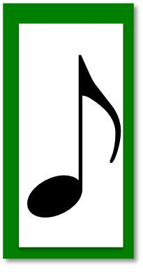 rhythm card eighth Music Notes, My Music, Easy Sheet Music, Piano Teaching, Music Activities, Special Needs Kids, Music Classroom, Piano Lessons, Music Education