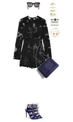 """""""954"""" by julialeskiv ❤ liked on Polyvore featuring Commando, Steve Madden, Anthony Vaccarello, 3.1 Phillip Lim, VICKISARGE, Anne Klein and Stephen Webster"""