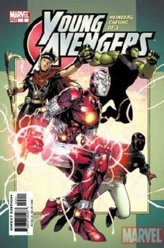 Young Avengers - Heinrerg Orfung Dell - Marvel - Ps 3 - Direct Edition - Jim Cheung
