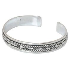 Silver Bracelet, Classic Thai Design