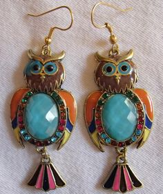 Trendy Owl Earrings Owl Earrings, Vintage Earrings, Drop Earrings, Trendy Jewelry, Fashion Jewelry, Drop Earring
