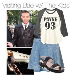 """""""Taking Your Kids To Visit Liam While He's On The Where We Are Tour"""" by ebbey ❤ liked on Polyvore featuring Payne, Vero Moda and Taryn Rose"""