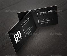 Great Business Card Mockups — Photoshop PSD #black #photo • Available here → https://graphicriver.net/item/great-business-card-mockups/2744863?ref=pxcr